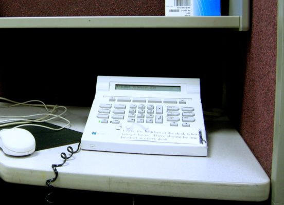Aspect Tel-Set Telephone, Lakeland, FL, 2005 © Petiatil | Wikimedia Commons