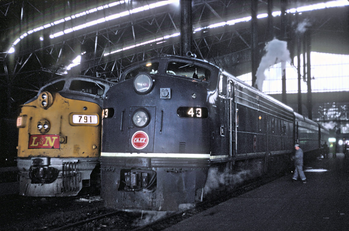 St Louis train shed, 1970 © Roger Puta (via Marty Bernard) | Flickr