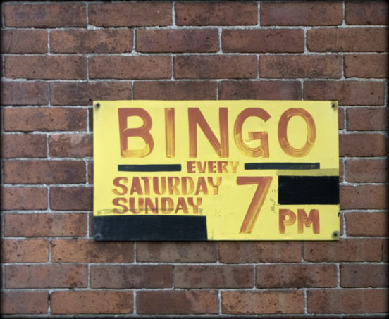 Bingo Sign, 2005 © David Goehring | Wikimedia Commons