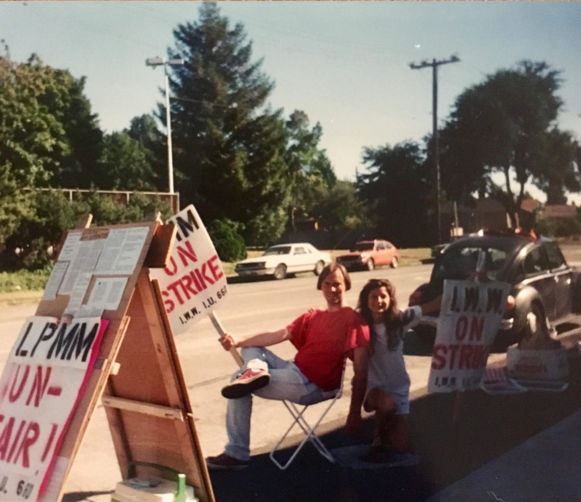 MiniMart strike, Seattle, 1996 | Image courtesy Jessica S