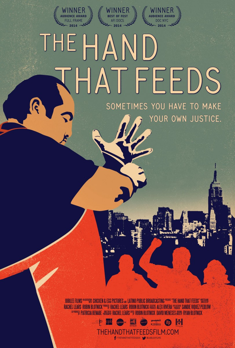 Movie poster for The Hand That Feeds