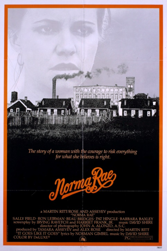 Norma Rae movie poster