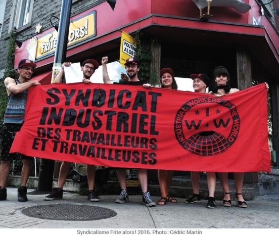 Workers go public at Frite Alors, Montréal, 2016 | © Cédric Martin