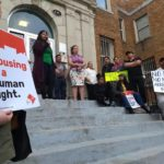 Rally in support of tenants, Washington D.C., 2018 | Image courtesy of the author